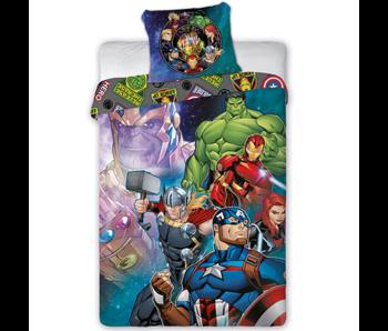 Marvel Avengers Housse de couette True Heroes 140 x 200