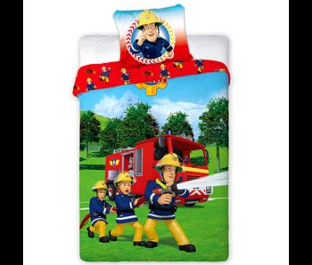 Brandweerman Sam Dekbedovertrek 140 x 200