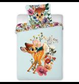 Disney Bambi Housse de couette BÉBÉ - 100 x 135 cm - Coton