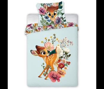 Disney Bambi BABY Dekbedovertrek Floral 100 x 135 cm Katoen