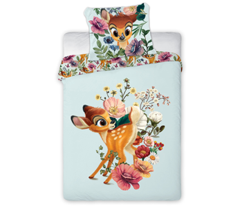 Disney Bambi Babybettbezug 100 x 135 40 x 60 cm Baumwolle