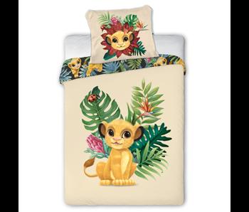 Disney The Lion King BABY Dekbedovertrek Simba 100 x 135 cm Katoen