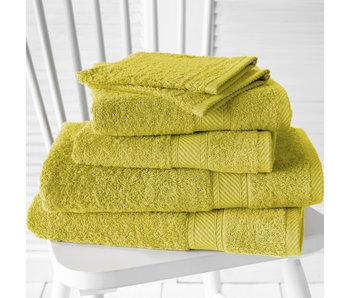 De Witte Lietaer Promopack Helene Warm Olive - Set de 6 textiles de bain