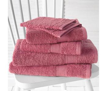De Witte Lietaer Promopack Helene Carmine - Bath textiles set of 6 pieces
