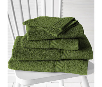 De Witte Lietaer Promopack Helene Cactus - Bath textiles set of 6 pieces