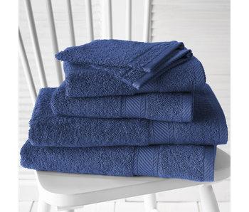De Witte Lietaer Promopack Helene Blue Indigo - Bath textiles set of 6 pieces