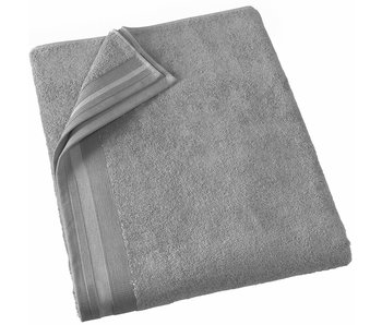 De Witte Lietaer Bath towel Contessa Steel Gray 100 x 150 cm