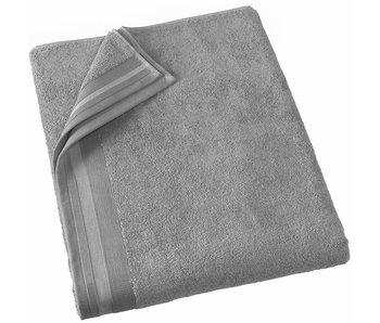 De Witte Lietaer Serviette de bain Contessa Steel Grey 100 x 150 cm