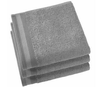 De Witte Lietaer Serviettes Contessa Steel Grey 50 x 100 cm - 3 pcs.