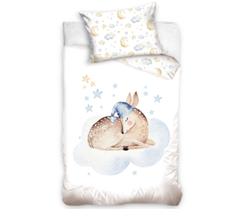 Animal Pictures Deer baby duvet cover 100 x 135 40 x 60 cm cotton
