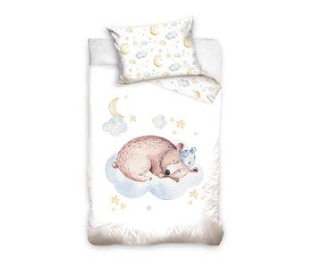 Animal Pictures Bär Baby Bettbezug 100 x 135 40 x 60 cm Baumwolle