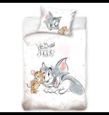 Tom & Jerry Housse de couette BÉBÉ - 100 x 135 cm - coton