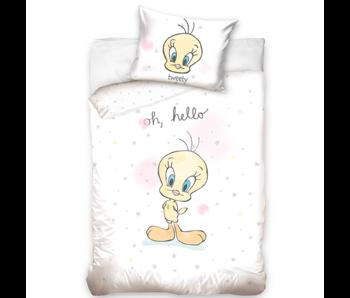 Looney Tunes Housse de couette bébé Oh Hello 100 x 135 40 x 60 cm coton