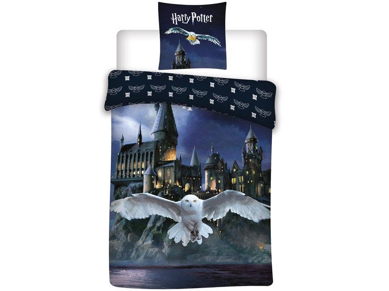 Harry Potter Duvet cover Hedwig - Single - 140 x 200 cm - Cotton