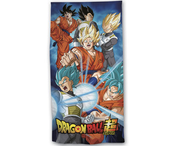Dragon Ball Z Beach towel Power 70 x 140 Polyester