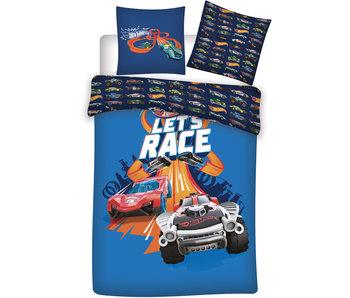 Hot Wheels Housse de couette Let's Race 140 x 200 Polyester