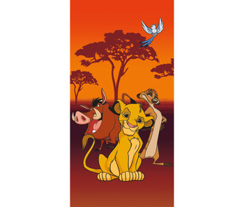 Disney The Lion King 2-in-1 Strandlaken + Gymbag 70 x 140  + 43 x 32