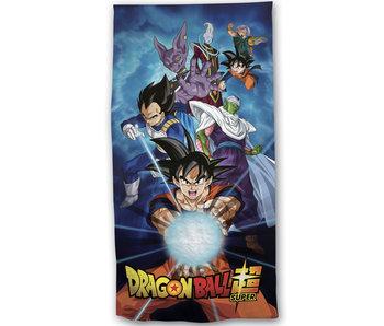 Dragon Ball Z Serviette de plage Super 70 x 140 Coton