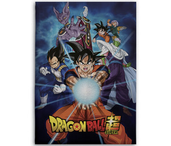 Dragon Ball Z Fleece deken Super 100 x 140 cm
