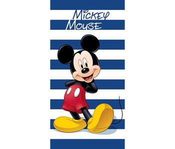 Disney Mickey Mouse Beach towel Stripe 70 x 140 Cotton