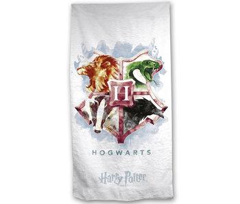 Harry Potter Strandlaken Hogwarts 70 x 140 Katoen