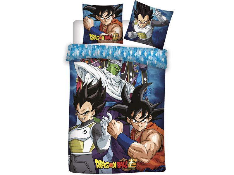 Dragon Ball Z Dekbedovertrek BAM! - Eenpersoons - 140 x 200 cm - Polyester
