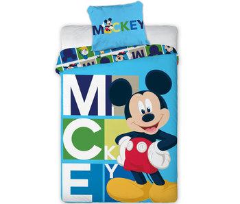 Disney Mickey Mouse Housse de couette Blocks 140 x 200 Polyester