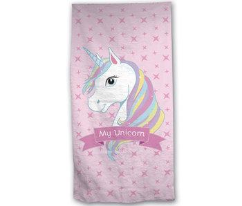 Unicorn Serviette de plage 70 x 140 Coton