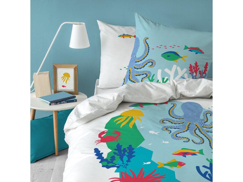 Matt & Rose Duvet cover Ocean - Single - 140 x 200 cm - Cotton