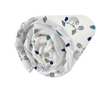 Matt & Rose Spannbetttuch Faultier 90 x 190/200 cm
