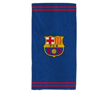 FC Barcelona Strandlaken Logo 75 x 150 cm