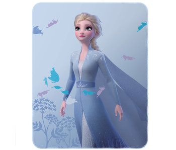 Disney Frozen Fleece deken Earth 110 x 140 cm