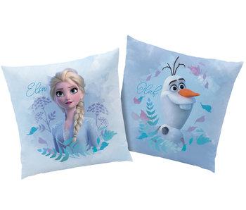 Disney Frozen Kussen Earth 40 x 40 cm