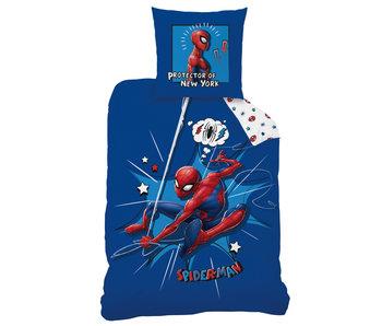 SpiderMan Dekbedovertrek Protector 140 x 200 Katoen