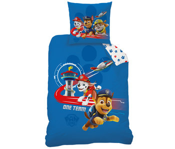 PAW Patrol Duvet cover Ready for Action 140 x 200 Cotton