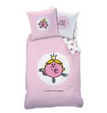 Meneertje Mevrouwtje Housse de couette Miss Princess - Simple - 140 x 200 cm - Coton