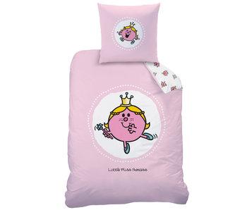 Meneertje Mevrouwtje Housse de couette Miss Princess 140 x 200 Coton