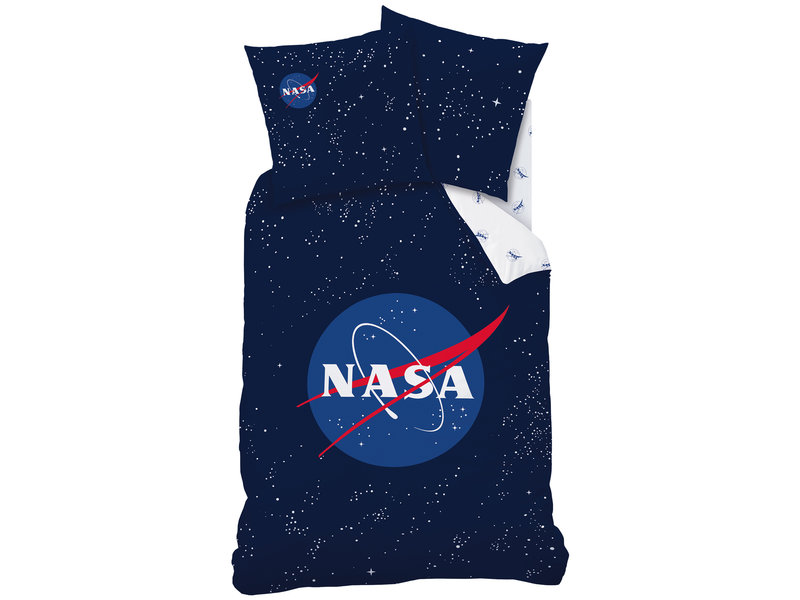 NASA Dekbedovertrek Stars - Eenpersoons - 140  x 200 cm - Katoen