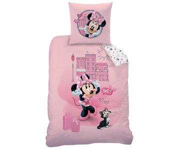 Disney Minnie Mouse Housse de couette Downtown 140 x 200 Coton