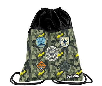 BeUniq Gymbag Militaire 47 cm