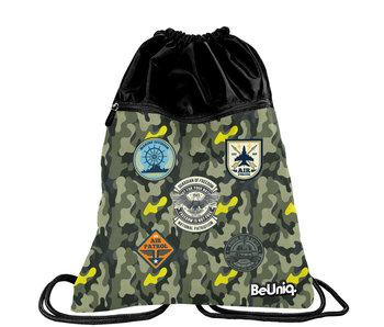 BeUniq Gymbag Military 47 cm