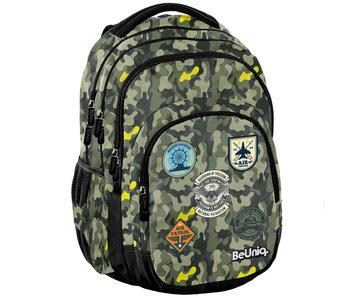 BeUniq Backpack Military 41 cm