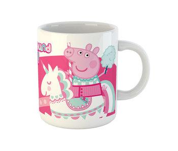 Peppa Pig Becher Einhorn Pink 325 ml