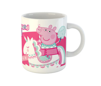 Peppa Pig Mug Licorne Rose 325 ml