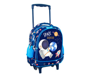 Must Trolley Backpack Astronaut 31 x 27 cm