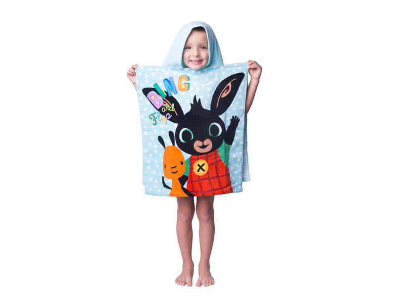 Bing Bunny Poncho - 50 x 115 cm - Katoen