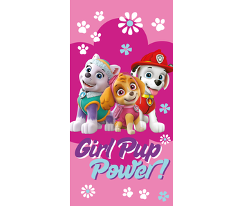 PAW Patrol Beach towel Girl Pup Power 70 x 140