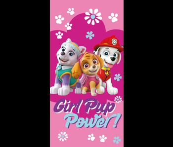 PAW Patrol Serviette de plage Girl Pup Power 70 x 140