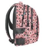BeUniq Backpack Leopard - 41 x 30 x 20 cm - Pink