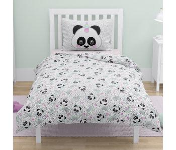 Panda Housse de couette Unicorn Dots 140 x 200